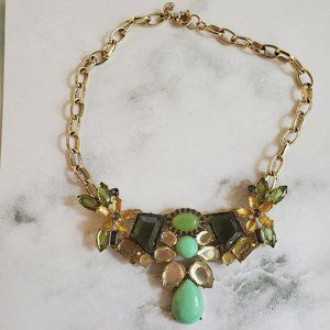 🍀 Necklace Candy Flower Floral Rhinestone Crystal
